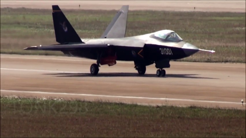 Chinese Stealth Fighter J-31 歼-31 鹘鹰 Air Show,(2014 | Godialy.com
