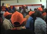Rival ODM groups clash in the presence of Party leader Raila odinga, in Bungoma