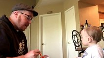 Jello From the Other Side: Dad Sings Adele to Baby During Meal-Time