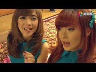 Aktifitas Novi peserta Audisi dengan Cherrybelle Part I