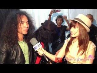 Cherrybelle Meet Slank - Backstage Konser 7 Trans 7 Lapangan Simpang Lima Semarang