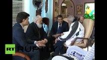 Kuba: Patriarch Kirill und Fidel Castro diskutieren über den Weltfrieden in Havanna
