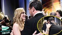 Kate Winslet & Leonardo DiCaprio Share Sweet Hug After His Epic First Oscar Win