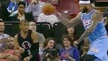 DeMarcus Cousins Chucks Ball at Chris Paul's Head