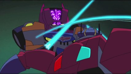 Transformers: Animated - Optimus Prime Vs. Headmaster