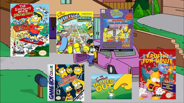 Retro Review - The Simpsons: Itchy and Scratchy in Miniature Golf Madness