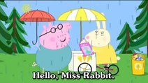 Learn English Through Cartoon | Peppa Pig Cartoon with english subtitles | Episode 38: The Rainbow