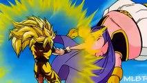 DBZ SSJ3 Goku vs Majin Buu [part 1/3] 【1080p HD】remastered