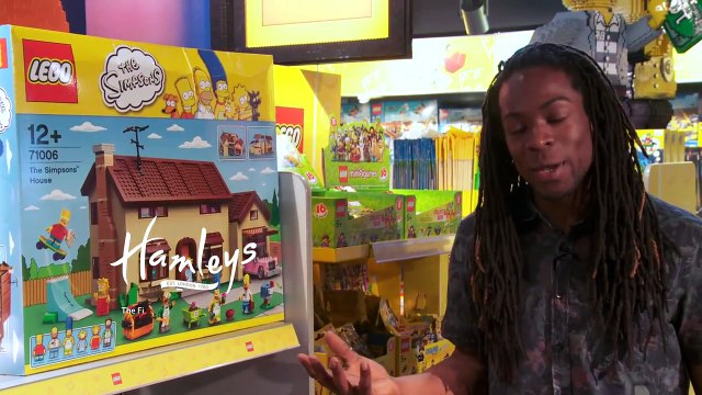 LEGO Minifigures The Simpsons Series 2 - 32 Pack Opening at Hamleys Toy Store
