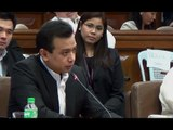 Trillanes confronts witness over 'intimidation' claim by Binay