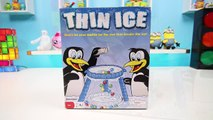 Thin Ice Family Fun Board Game Drop the Marbles But Dont Break the Ice Challenge Game!