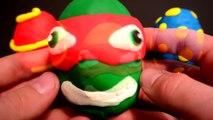 kinder surprise violetta Play Doh Surprise Eggs KINDER Surprise BEN 10 Pokemon сюрприз Turtles Funny