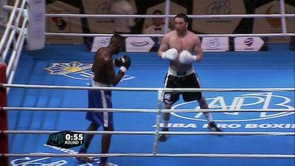 APB Uzbekistan (26.02.16) 69kg Machmudov vs Sissokho
