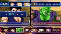 Gohan Super Saiyan 3 transformation VS Piccolo (DBZ Tenkaichi 3 MOD)
