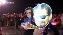 Mexican city celebrates Leonardo DiCaprio's Oscar with street party