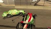 Disney cars Francesco Bernoulli VS Chick Hicks Raceway Laguna Seca v1.0