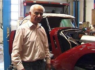"""Renaissance d'un cabriolet """"Talbot Lago spécial T 150C"""" de 1939"""