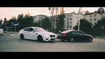BMW M5 F10 DRIFT BURN OUT  DONUTS White Beauty 2016