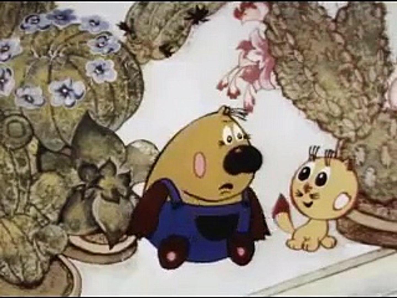 Котенок Филя. Советские мультфильмы