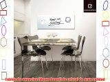Eurographics MB-WHITE3080 - Tablero de notas magnetico en vidrio con rotulador e imanes 30