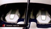 La voiture la plus rapide du monde : Bugatti Chiron - 420 km/h