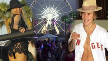 Celebs Invade Coachella - Kendall Jenner, Justin Bieber, and ... Clint Eastwood?!