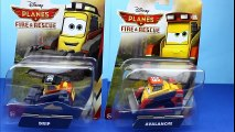 Disney Planes Fire & Rescue Planes Unboxing Firefighter Dusty Crophopper, Maru, Skipper, Avalanche