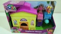 Dora the Explorer Dora Explorer Huset Playset med Swiper og Shopkins Desserter!