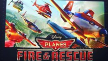 New Planes 2 Fire & Rescue Talking Dusty and Blade Ranger Pontoon Dusty Crophopper