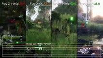 Crysis 3 R9 390X vs GTX 980 1080/1440p Gameplay Frame Rate