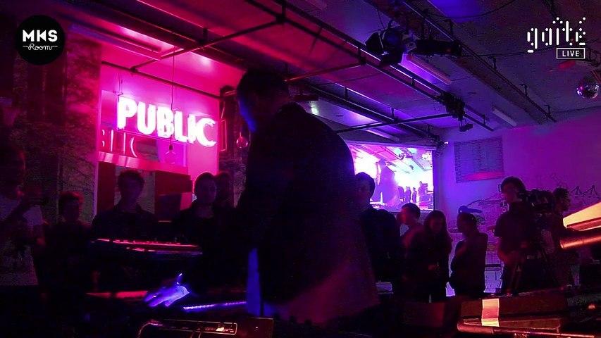 Live Arnaud Rebotini for MKS Room #DigitalEducation @Paris