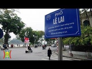 Chuyện về tên phố tại Hà Nội   HanoiTV
