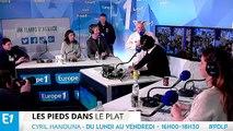 """""""Les Pieds dans le Plat"""" : la visite surprise du champion du monde du cri du cochon"""
