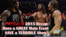 JOB'd Out - WWE Payback Results: Does a GREAT Main Event Save a TERRIBLE Show? (wrestling editorial)