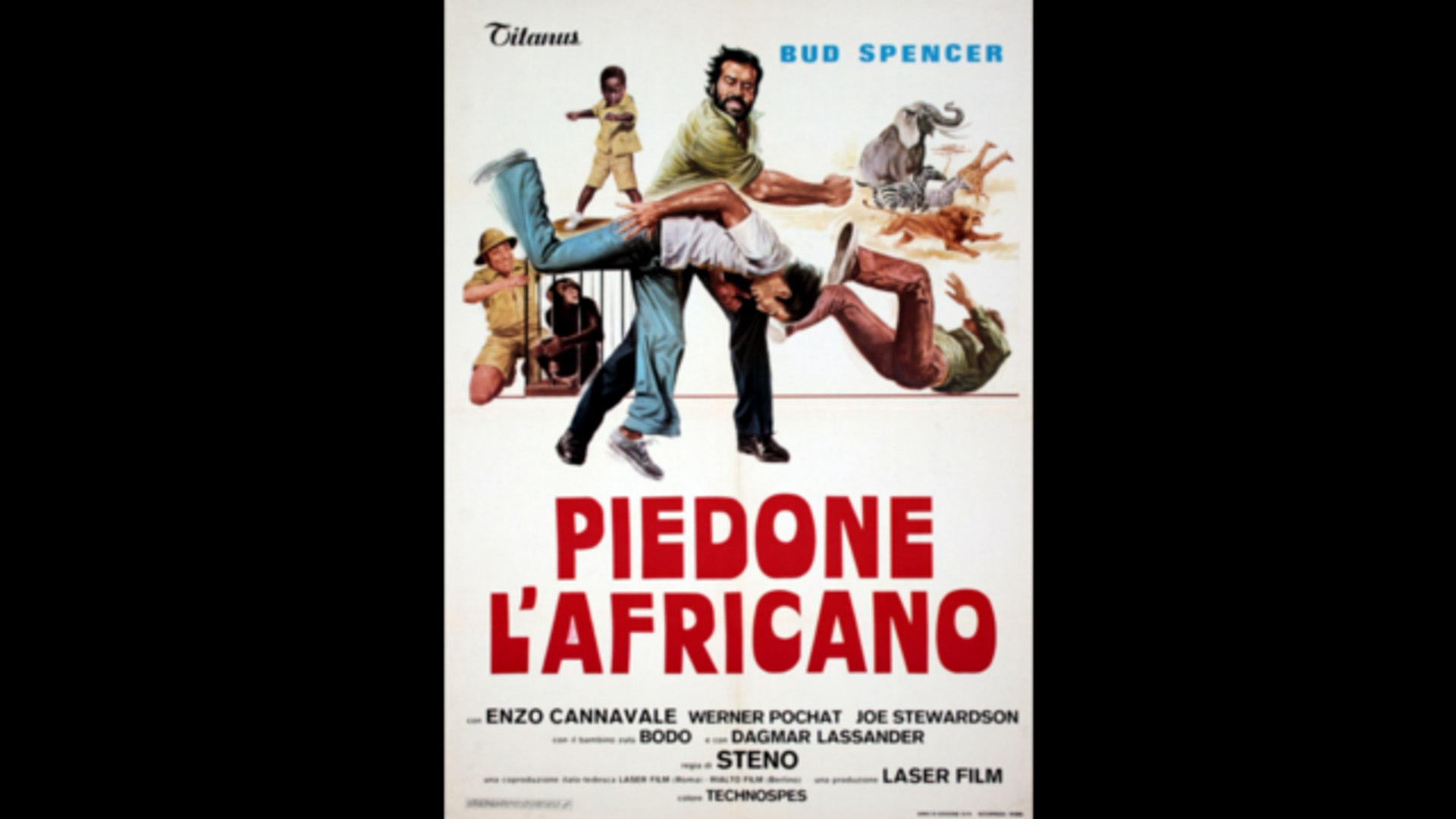 Piedone L Africano Primo Tempo Video Dailymotion