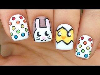Cute & Easy Easter Nail Art Tutorial