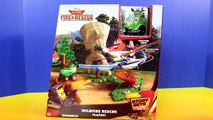 Disney Planes Wild Fire & Rescue Wildfire Rescue Playset Dusty Crophopper Saves Tractor Buck