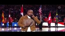 NBA All Star Game Toronto (2016) NE YO Sings The Star Spangled Banner [HD] via TNT