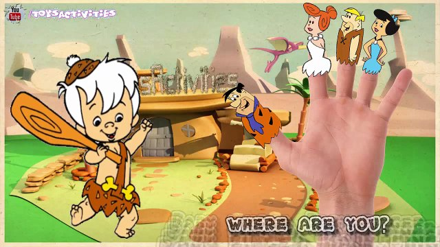 The Flintstones Finger Family Collection Flintstones Finger Family Songs Flintstones Nursery Rhymes