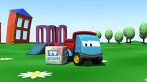 Meraklı kamyon Leo ve ekskavatör çizgi film türkçe izle