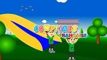 Une Souris Verte | Comptines françaises | French nursery rhymes