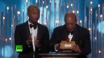 Ennio Morricone wins Oscar for score on Quentin Tarantinos The Hateful Eight