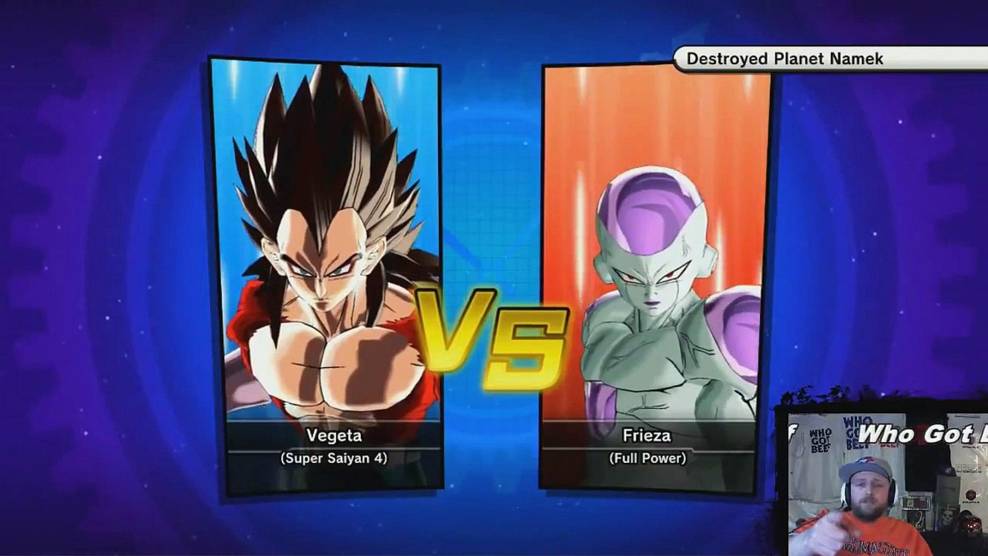 Vegeta Super Saiyan 4 Vs Frieza Full Power Full Fight Dragon Ball Xenoverse Gameplay Xbox One Dbz