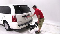 Review of the Thule Doubletrack Hitch Bike Rack on a 2008 Dodge Grand Caravan - etrailer.com