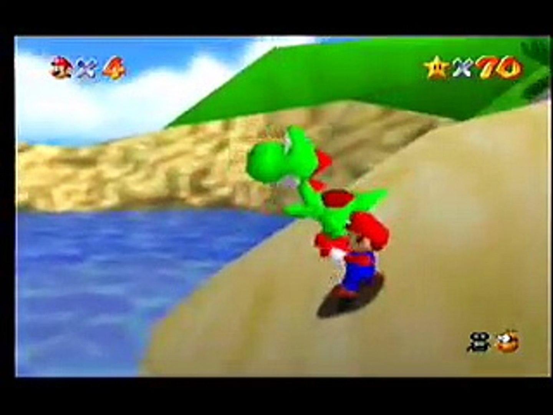 Gameshark code: Mario kills Yoshi in Super Mario 64
