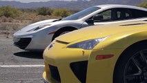 Qual o mais rápido? Bugatti Veyron vs Lamborghini Aventador vs Lexus LFA vs McLaren MP4-12C