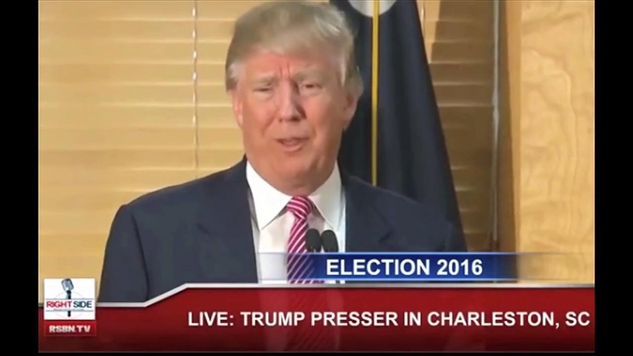 Still Report #632 Trump SC News Conference