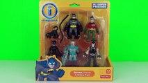 Imaginext DC Super Friends Batman Heroes & Villains Figure Pack, Fisher Price - Robin Bane Mr Freez