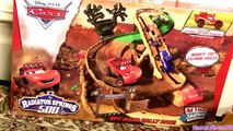 NEW Play Doh Cars Toons Radiator Springs 500 1/2 Off-Road Rally Race Track set Lightning McQueen