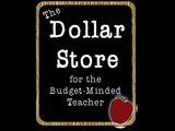 Occupational, Physical and Speech Therapy Resources at the Dollar Store for Teachers - Online Only